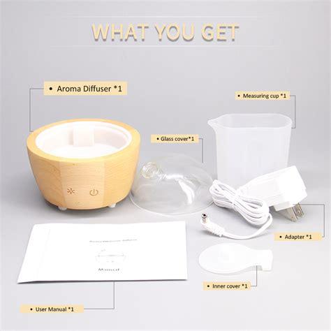 portable water ultrasonic nebulizer aroma humidifier