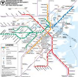 Mbta Boston Map by Boston To A T Back In Boston An Mbta Student Guide