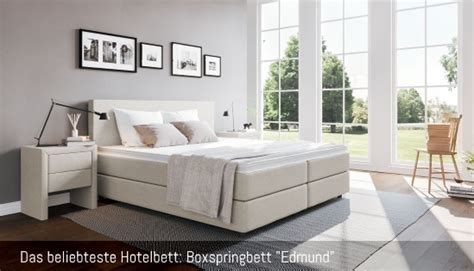 Hotelbetten Boxspring hotelbett g 252 nstig kaufen boxspring welt