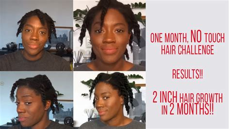 hair challenge hair challenge results 2 inch hair growth in 2 months