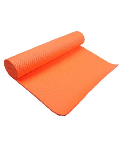 What Does Mat In Sales by Tara Sales Orange Mat 6 Mm Buy At Best Price