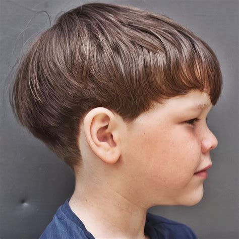 Boys Hairstyles With Bangs by Toddler Boy Haircuts