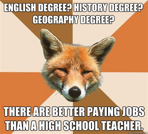 History Major Meme - english degree history degree geography degree there