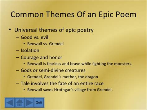 themes in modern english poetry the anglo saxons and beowulf
