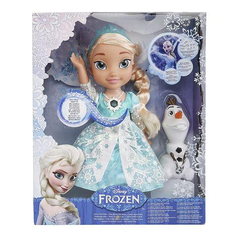 frozen dolls ebay frozen snow glow elsa doll ebay
