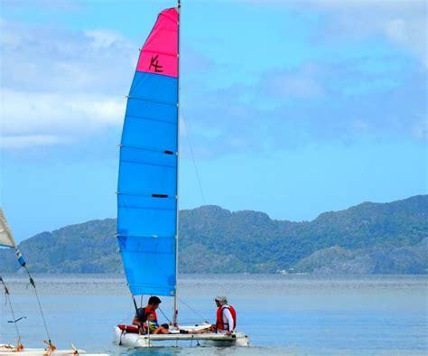 catamaran sailing palawan el nido with kids the philippines globetotting