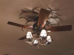Antler Ceiling Fan With Light Macphail Studio Detail Image And Description