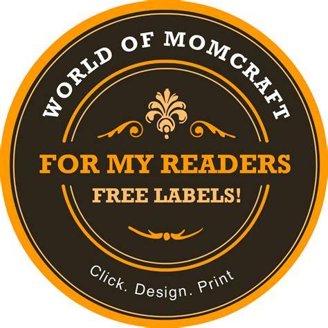 printable label machine free custom mason jar label maker world of momcraft