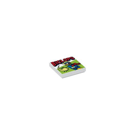 Lego Part Other Decorated Tile 2 X 2 With Lego Car And City lego tile 2 x 2 with decoration with groove 17255