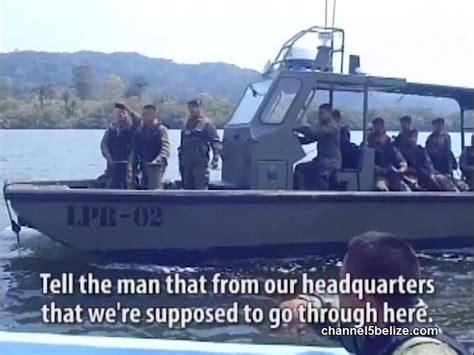cadenas belize b d f commander says military changeover at cadenas is