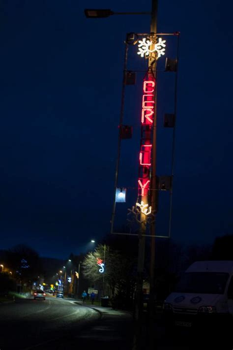 aberfeldy forced to keep up christmas lights because
