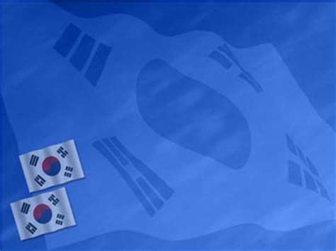 powerpoint templates korea korea south flag 01 powerpoint templates