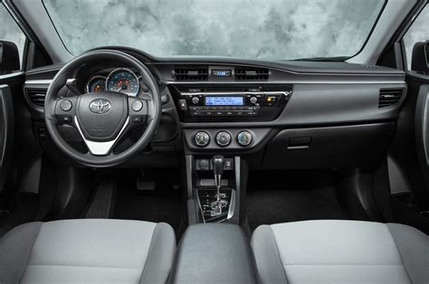 toyota corolla dashboard 2014 toyota corolla pricing announced