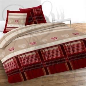 linge de lit style montagne ou cagne