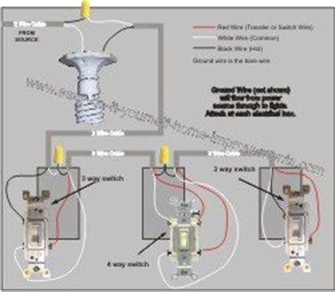 4 way switch wiring