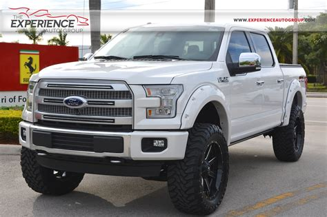 used 2015 ford f 150 4x4 supercrew platinum for sale
