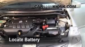 Nissan Versa Battery Air Filter How To 2007 2012 Nissan Versa 2008 Nissan
