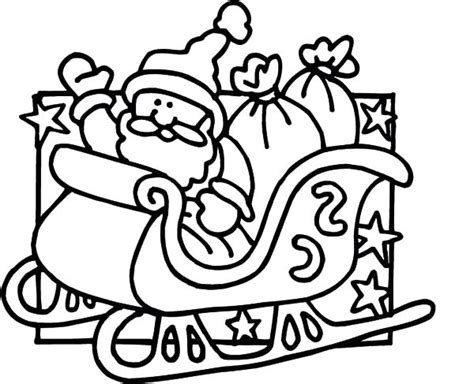 santa claus sleigh coloring pages free coloring pages of mask of santa claus