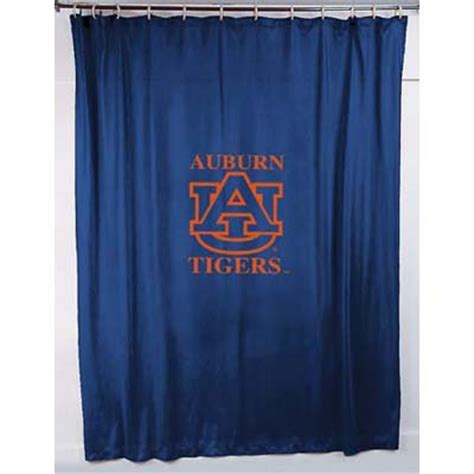 locker room shower curtains auburn tigers locker room shower curtain