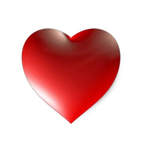 Herz Aufkleber by Herz Symbol Rot Der 3d Herz Aufkleber Zazzle