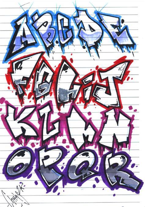 Graffiti Letter Templates