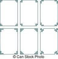 cornici celtiche illustrazione vettori di decorativo angoli celtico nodo