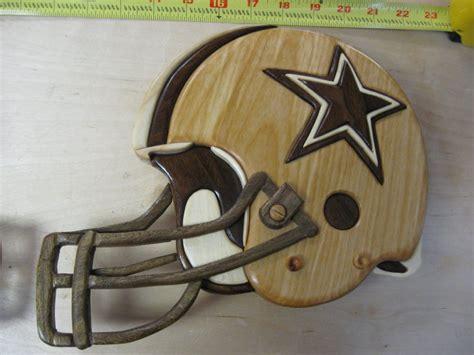 intarsia football helmets  luvlearn  lumberjockscom
