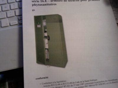 Armoire Phytosanitaire Pas Cher by Armoires Produits Phytosanitaires En Belgique