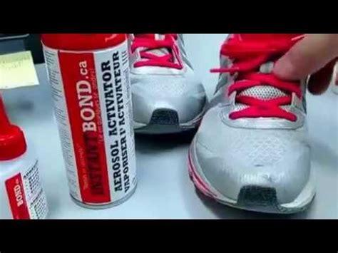 athletic shoe repair diy shoe repair how to fix repair your own shoe leather