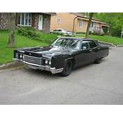 Gangster Styled Car 1970 Lincoln Continental
