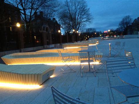 the plaza at harvard cambridge usa stoss