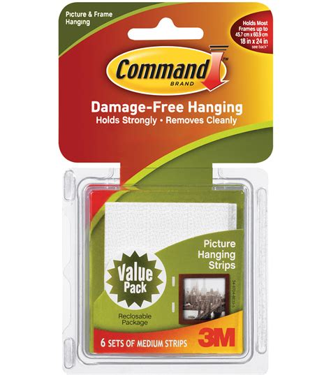 command strips command medium picture hanging strips jo ann
