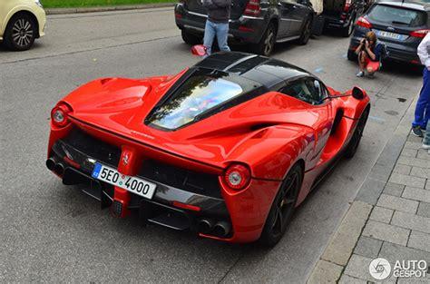 Ferrari M Nchen by Zesde Unieke Laferrari Gespot In M 252 Nchen