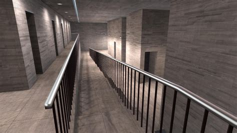 Interior Handrails Realtime Archviz With Blender Cad Bim Gt Bge