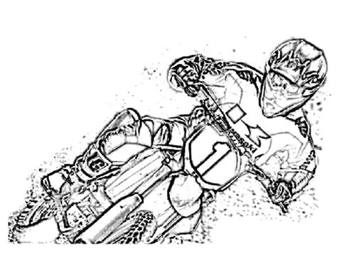 card dirt bike coloring templates supercross coloring pages