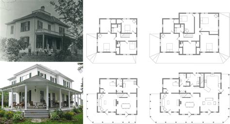 historic farmhouse floor plans old farmhouse floor plans vintage farmhouse floor plans