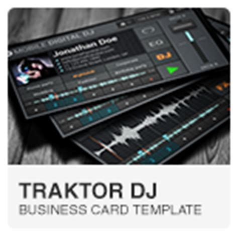 mobile dj business card template flat digital dj business card by vinyljunkie graphicriver