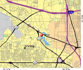 Irving Zip Code Map by Zip Code For Irving Tx