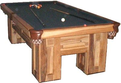 Handmade Pool Table - would like to make one collapsible or hideaway with the