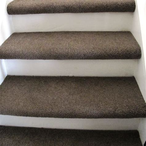 Stair Tread Carpet Carpet Treads Painted Riser Basement