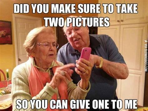 Cell Tech Meme - old people and technology