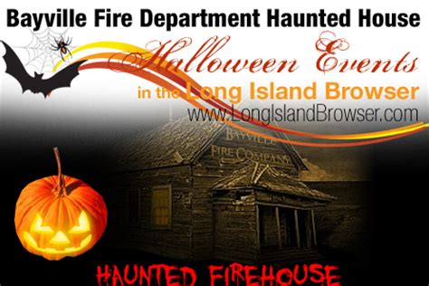 bayville haunted house bayville fire department halloween haunted firehouse long island s scariest haunted