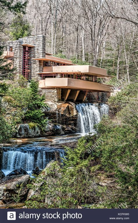Falling Water House fallingwater stock photos amp fallingwater stock images alamy