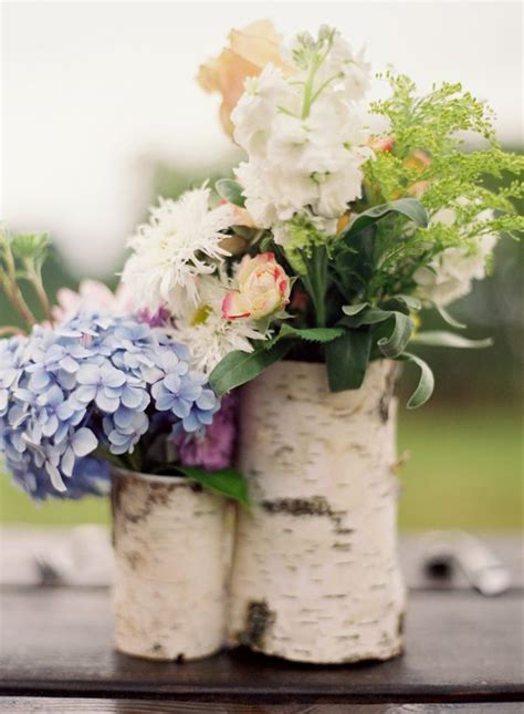birch bark centerpieces the sweetest occasion the