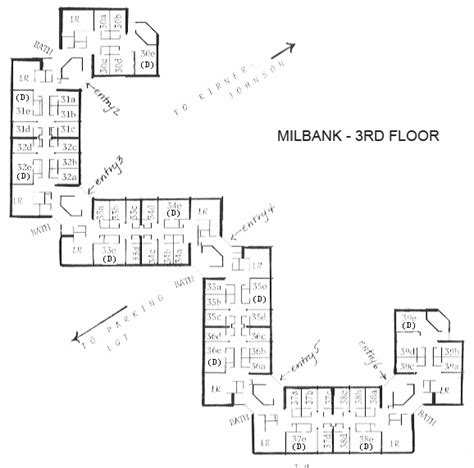 housing and floor plans milbank hamilton college