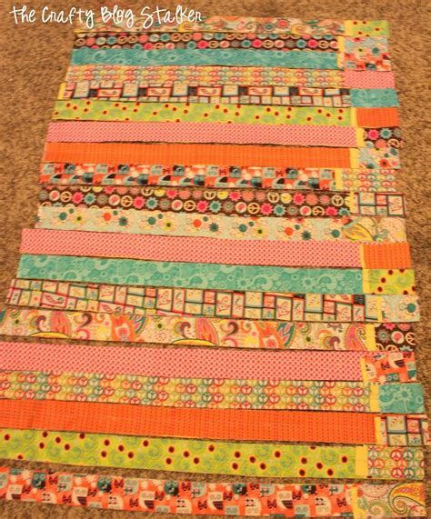 Rag Quilt Material by How To Make A Fabric Rag Quilt The Crafty Stalker