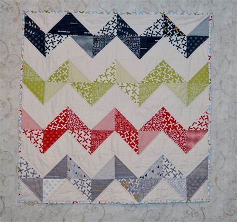 Chevron Patchwork - chevron zig zag patchwork quilt out of reunion 39 by 39