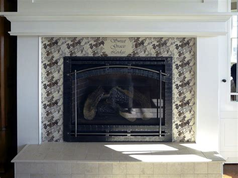 Fireplace Hearth Tile Ideas by Fireplace Tile Design Ideas On The Mantel And Hearth
