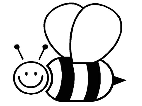 bee color free printable bumble bee coloring pages for