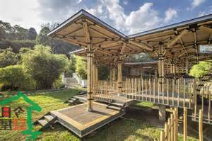 Bamboo Gazebo Plans by Bamboo Gazebo Boost Your Natural Backyard Looks Gazebo Ideas